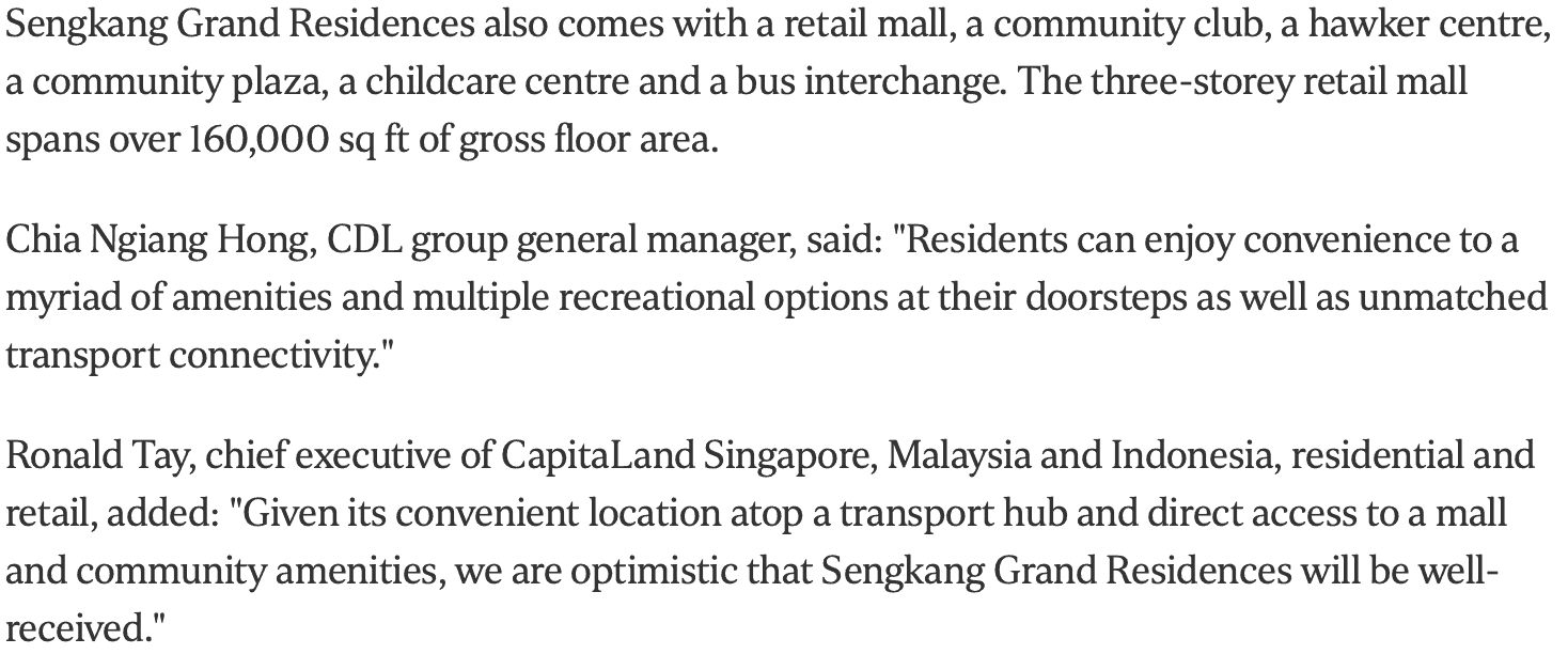 News - Sengkang Grand Residences To Launch